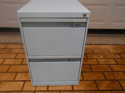 2 Drawer Filing Cabinet - No Key