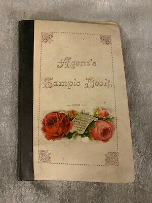 Antique Agents Sample Gift Card Or Gift Tags Salesman Book