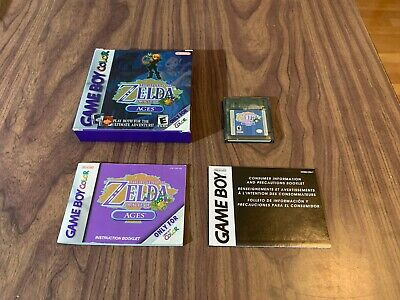 Legend of Zelda: Oracle of Ages (Game Boy Color, GBC) Complete - Authentic