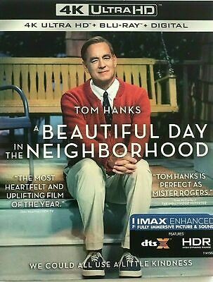 A Beautiful Day In The Neighborhood (4K+Blu-Ray+Digital) NEW w/SLIP