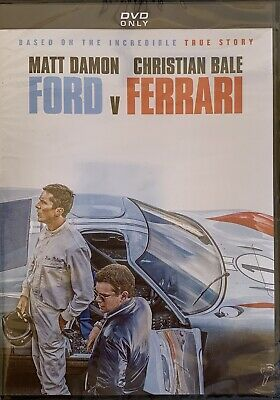 FORD v FERRARI   <   DVD   >   *New *Factory Sealed