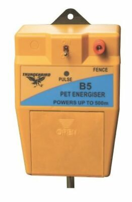 7.5km 12 Volt B60 BATTERY Powered Electric Fence ENERGISER Thunderbird farm