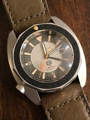 Vintage VDB 2014 GMT Swiss ETA 2893 Automatic 49mm German
