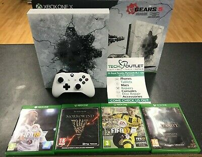 Microsoft Xbox One X 1TB Gears 5 Limited Edition Console & Games