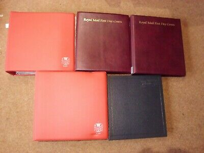 Large Collection GB & CI FDCs in 6 albums 1960-80s (350) - rf723