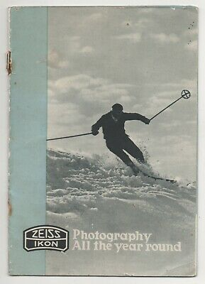 """"""" ZEISS IKON """" Photography All The Year Round. Original 1930's With Prices."""