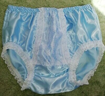 Cd Adult Baby Sissy Blue Panel Knickers