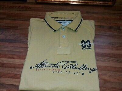 Crew Clothing Polo Shirt Size L VGC
