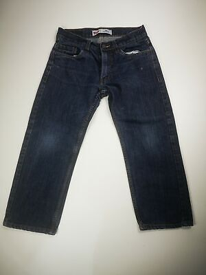 Kids Levi's 505 Relaxed Denim Jeans Age 8 ' Husky ' W28 L23 Levi