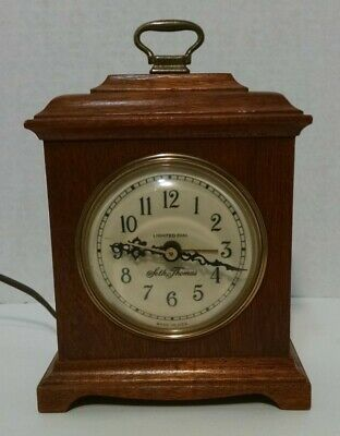 Antique Seth Thomas Case Mantel Clock Buckingham electric mahogany missing back
