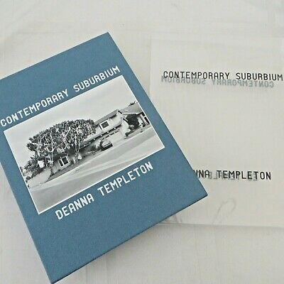 Ed & Deanna Templeton - TWO SIGNED, CONTEMPORARY SUBURBIUM, NEW IN SLIPCASE
