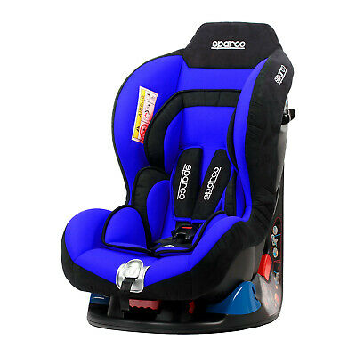 Sparco F5000K Blue Child Seat (0-18 kg) NEW