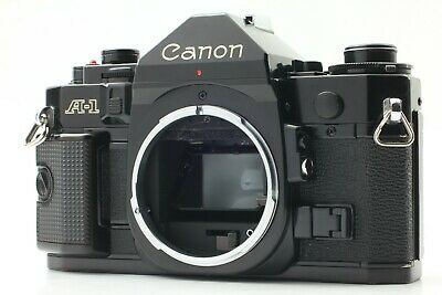 【EXC+++++】 Canon A-1 35mm SLR Film Camera Black Body From Japan  826
