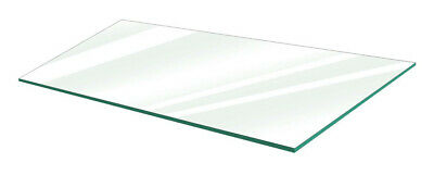 "Glass Shelves 12"" W x 36"" L - Pack of 5"