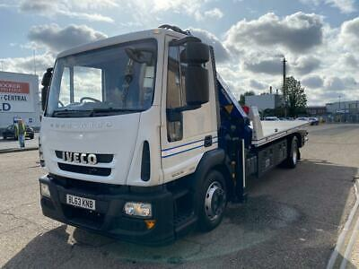 Iveco Eurocargo - Accident Unit Euro 6 Ulez Manual Gearbox