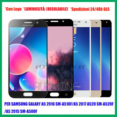 Per SAMSUNG Galaxy A5 A510 A520 A500 Display LCD +Touch Screen Schermo OLED/TFT
