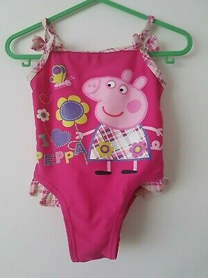 💕 George   💕 Girls   swimsuit Peppa Pig  9 - 12  Months Years 💕