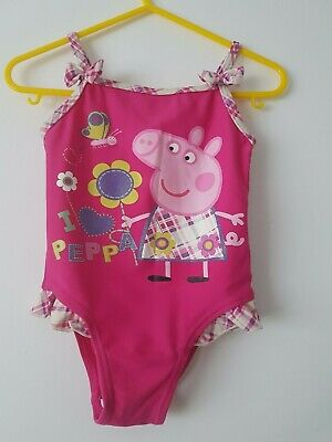 💕 George   💕 Girls   swimsuit Peppa Pig  12  - 18 Months Years 💕