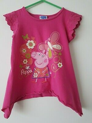💕    George  💕 Girls    top , tunic Peppa Pig   18 - 24 Months Years 💕