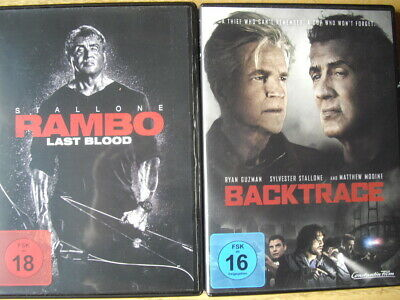Rambo Last Blood Sylvester Stallone / Backtrace 2 Filme