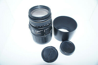 Sigma AF 70-300mm APO Macro f/4-5.6 Zoom Lens Minolta/Sony A-mount MF ONLY!