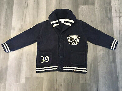 Baby Boys Ralph Lauren Lovely Thick Cardigan 12 Months
