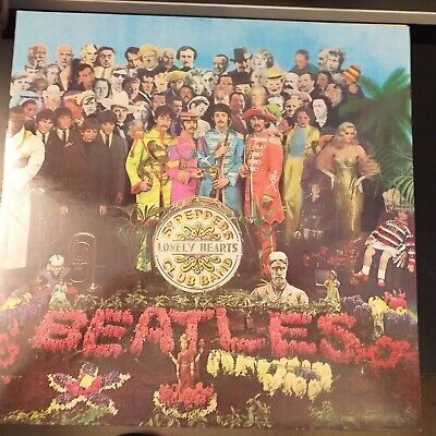 The Beatles Sgt Pepper's Lonely Hearts Club Band  1980 Re Issue Vinyl LP