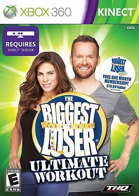 The Biggest Loser Ultimate Workout [Xbox 360] Very Good Condition!
