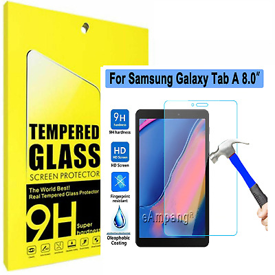TEMPERED GLASS Screen Protector For Samsung Galaxy Tab A 8.0 inch T350 T290 T380