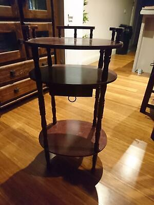 Antique stand with draw-Mahogany