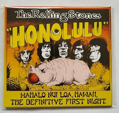 The Rolling Stones  Mahalo Nui Loa, Havaii - Definitive First Night CD  1973