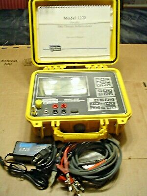 Riser Bond 1270 Metallic TDR Cable Fault Locator NEW BATTERY READY TO USE