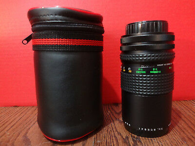 FOCAL MC AUTO ZOOM 1:4.5 F=80-200mm Lens with Cover ~FAST S/H~