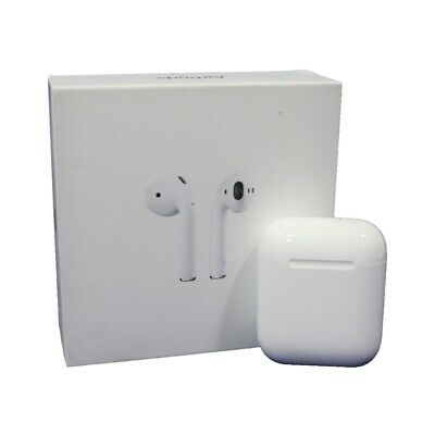 Apple AirPods 2nd Generation Headsets with Charging Case Gen 2 White (MV7N2AM/A)