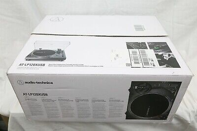 NEW Audio-Technica AT-LP120XUSB Direct Drive Analog & USB HiFi Stereo Turntable
