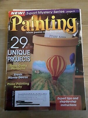 Painting Magazine February 2008 Decorative and Tole Painting Patterns
