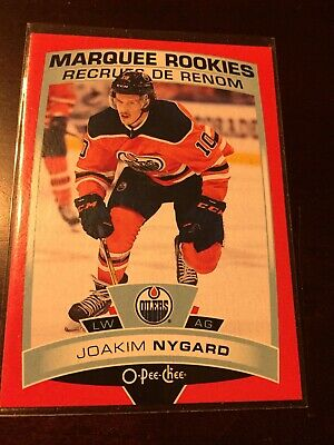 2019-2020 19-20 Upper Deck Series 2 Joakim Nygard Opc O-pee-chee Rookie Red Rc