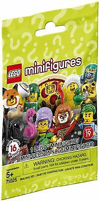 4x Four NEW FACTORY SEALED Lego 71025 Series 19 Minifigures BLIND BAG COLLECT 16
