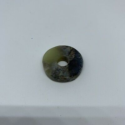 Chinese old natural jade hand-carved pendant