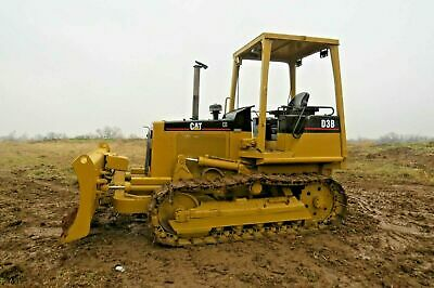 Caterpillar D3B Dozer 6 Way Dozer Blade Diesel Engine Powershift Loader Crawler