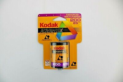 New Sealed Kodak Advantix Color Print Film 200 outdoor / indoor 25 exp.