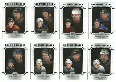 2019-20 Upper Deck Hockey Series 2 Ud Portraits Rookies (#P51-P100) U-Pick List