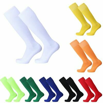 Plain Football Socks Rugby- Hockey Soccer Free UK Delivery Mens Womens Kids