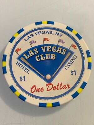 Las Vegas Club $1 Casino Chips Las Vegas Nevada 3.99 Shipping