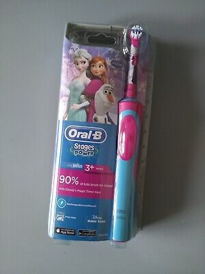 Oral B Stage Power Kids Electric Toothbrush Frozen Princess