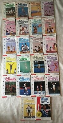 The Gymnasts By Elizabeth Levy - Complete Series - 22 Books