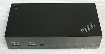 Lenovo IBM ThinkPad USB 3.0 Pro Dock DK1522 03X7130 40A7 NO Adapter