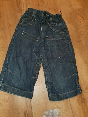 Boys Next Dark Denim 3/4 jeans.......age 5 years