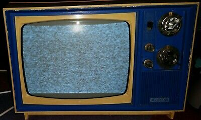 Vintage Philco black and white TV - Turns on and Works very well