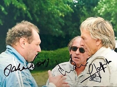 Signed Formula One photograph